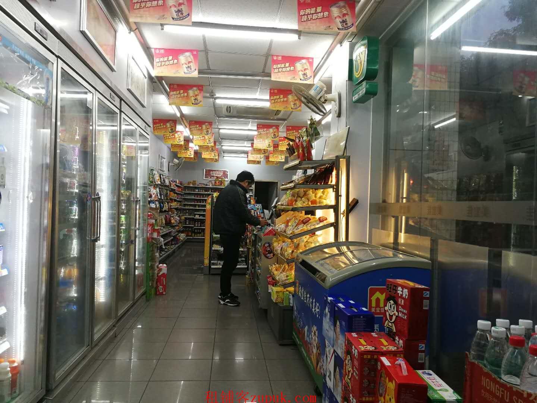 小区门口第一家拐角品牌超市低价转让