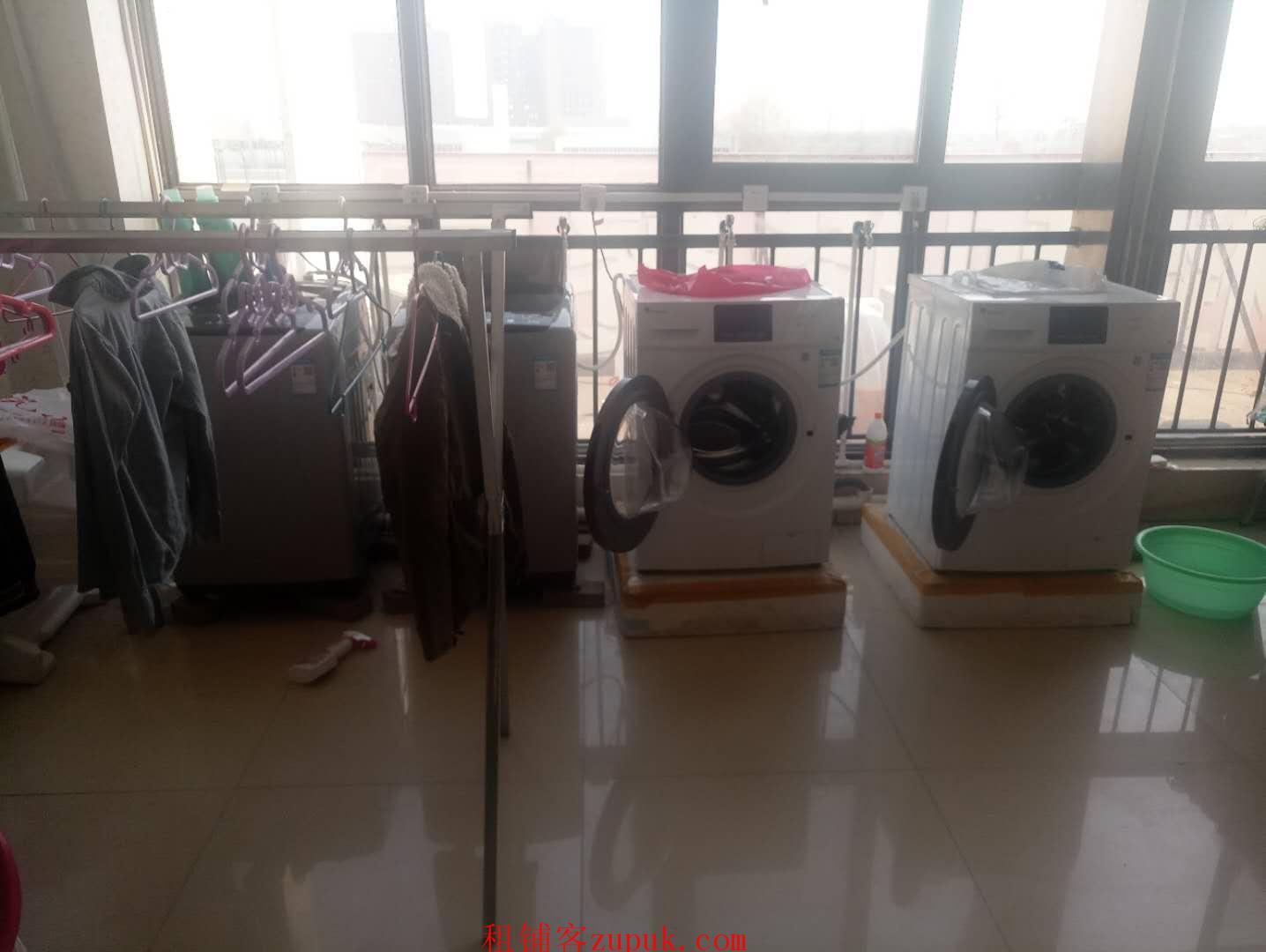 大学内唯一澡堂门口洗衣店转让