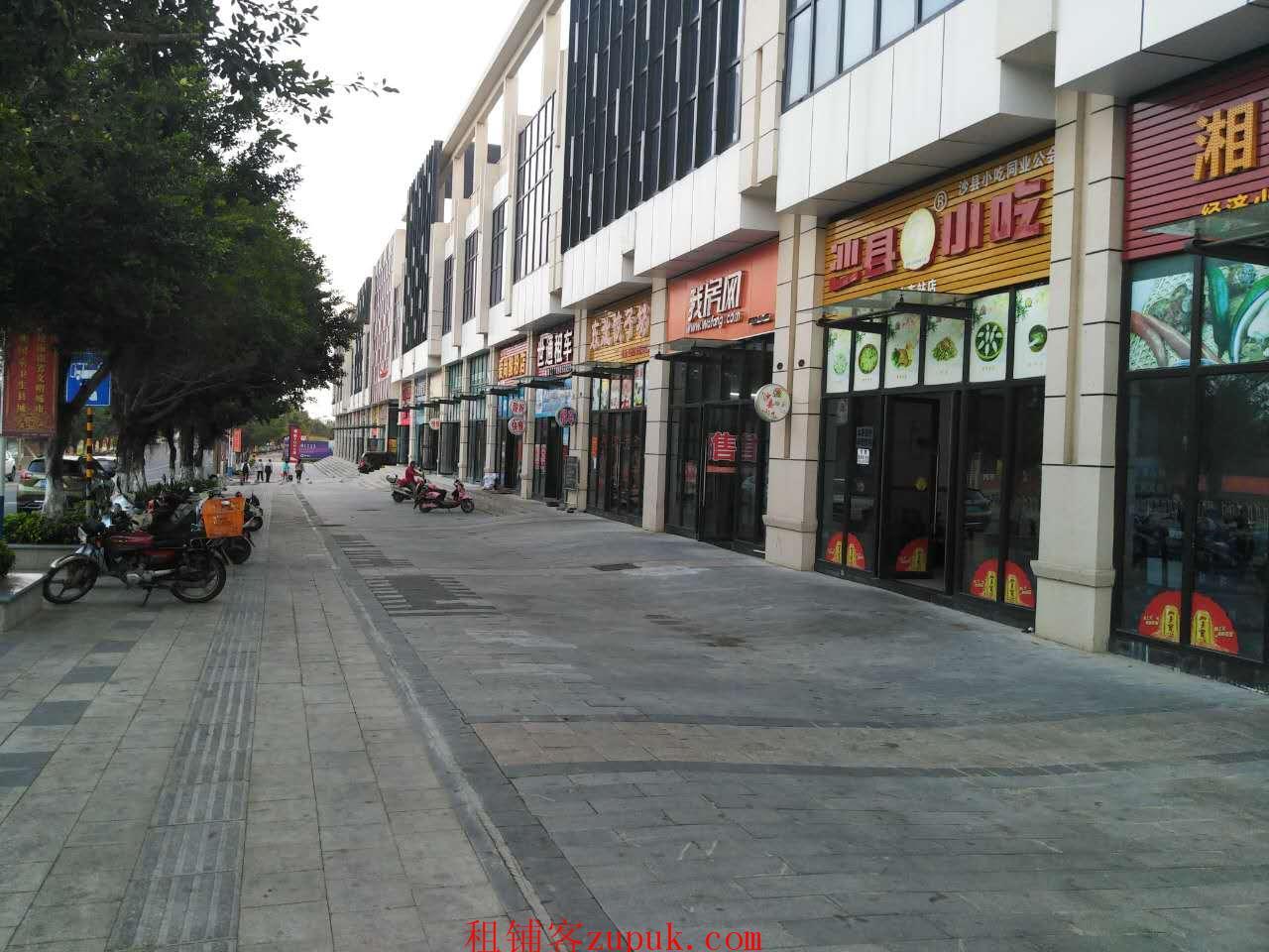 陵水高铁站进出口临街110平米餐馆转让