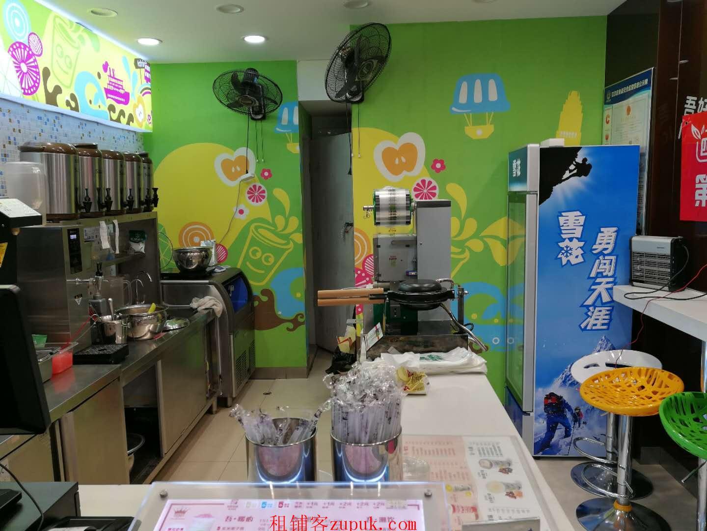 银松路临街奶茶店小吃店行业不限可空转