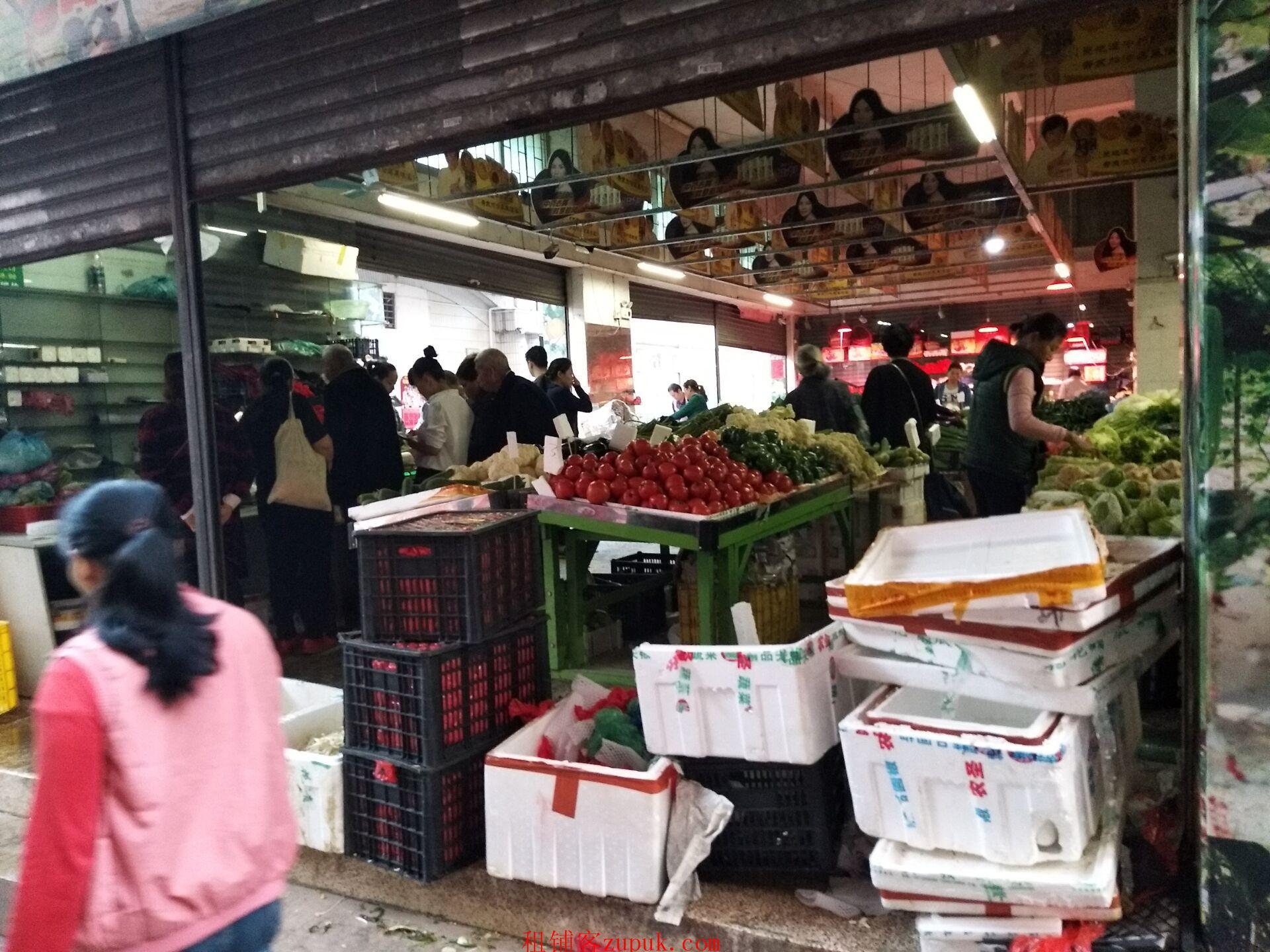南城白马水果蔬菜店急转,可空转