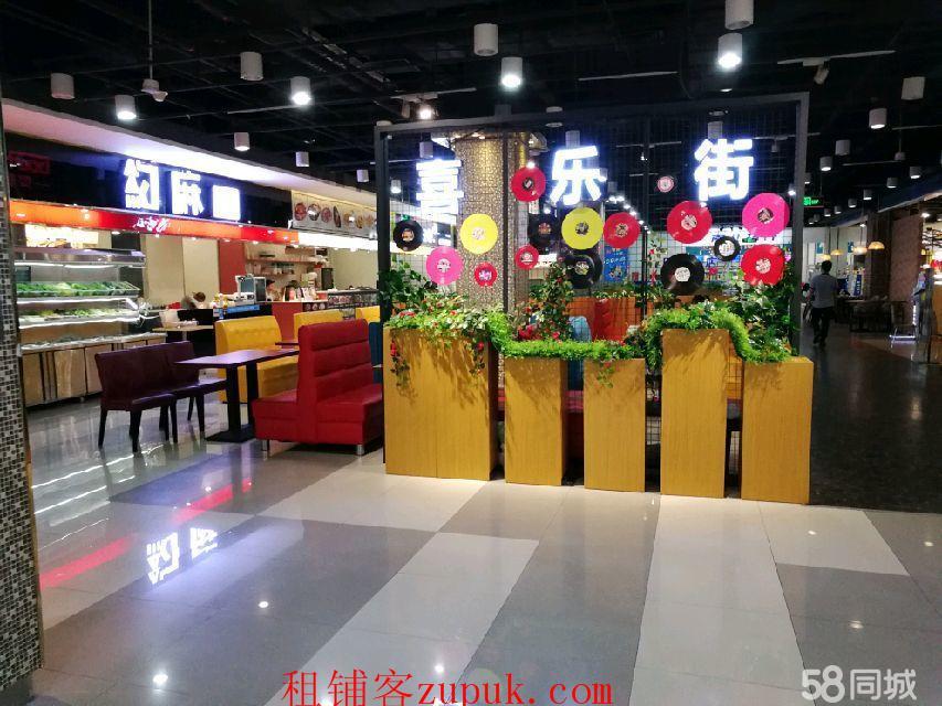 深圳龙华新区观澜商业街美食街入口商铺