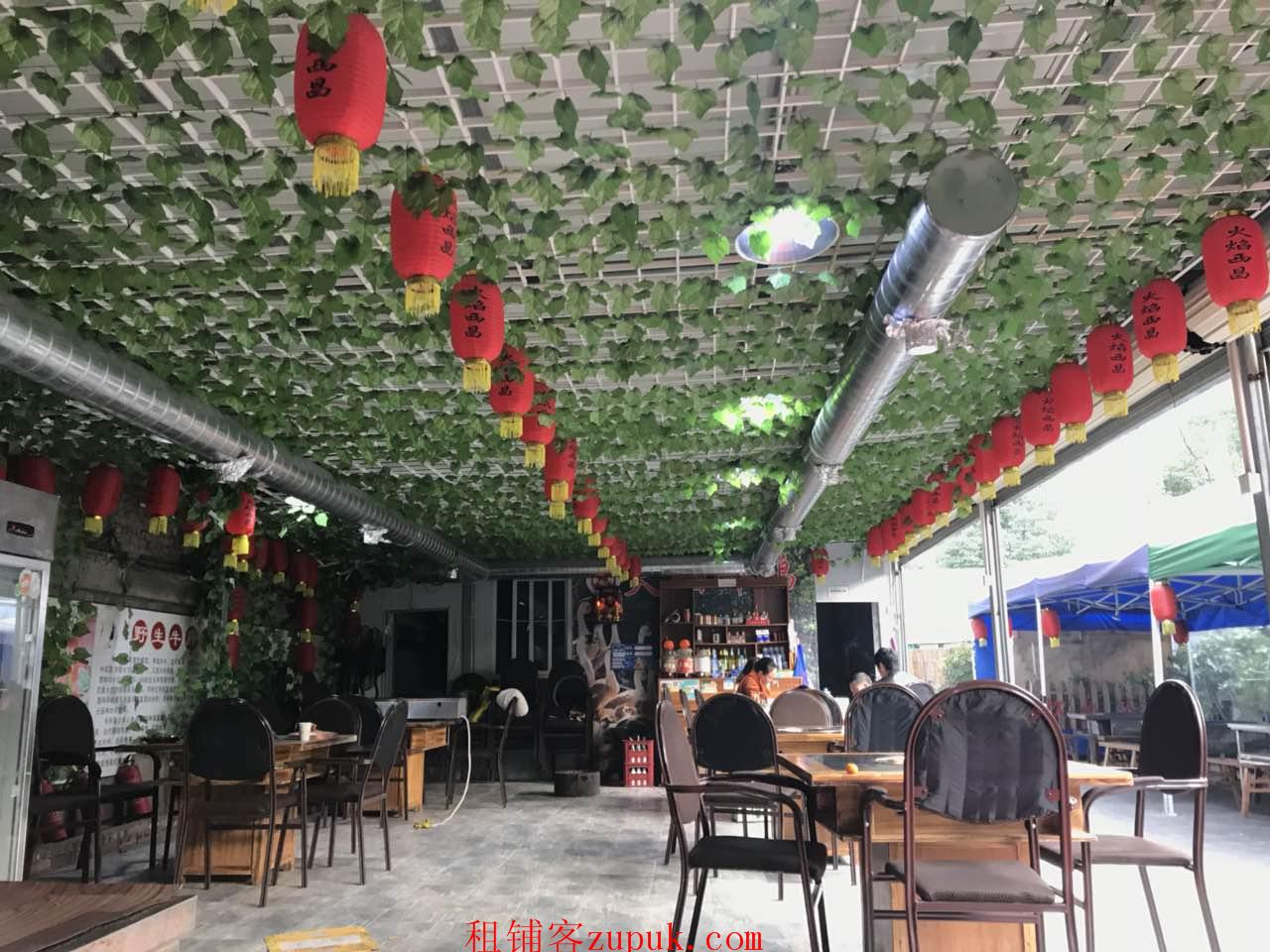 武侯区 大型写字楼+低房租 盈利餐饮店转让