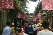 田子坊主干道沿街饮品美甲旺铺,客流巨大,商圈成熟