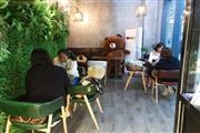 执照齐全  购物广场1楼过道中心咖啡店转让(可适合各行业)