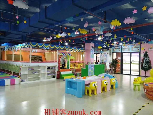 三桥660平儿童乐园超低价转,可空转
