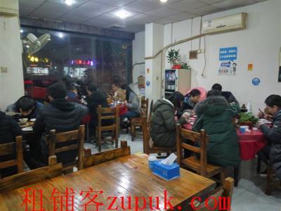 众多成熟小区十字路口70㎡餐饮店转让