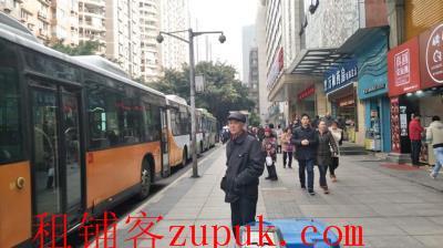 小区环绕公交大站旁80㎡黄金临街门面急转