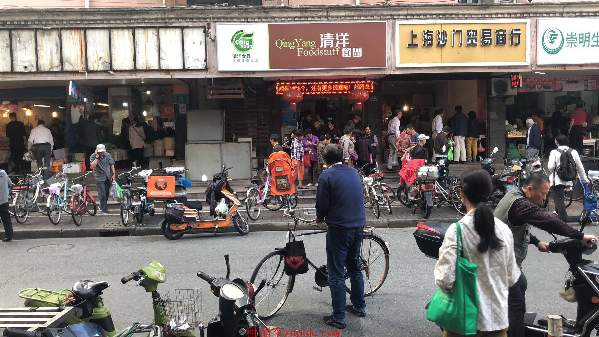 医学院路 枫林路商铺出租 靠近菜市场 客流大可重餐
