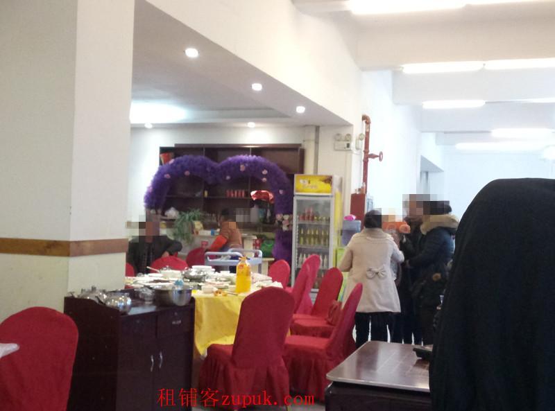 绿洲湾小区273平餐饮店急转