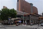 中山医院对面 沿街餐饮商铺 人群川流不息展示面大