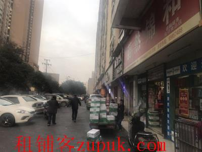 蔚然锦和,桂花西路临街130平7年老超市转让(可空转)