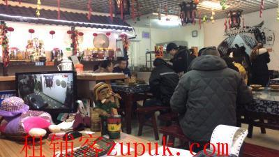 轻轨站出口处320㎡盈利餐馆可转租 (行业不限)