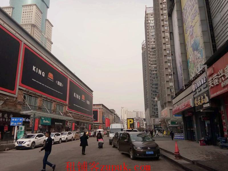 江汉路花楼街临街73㎡独家铺面空转
