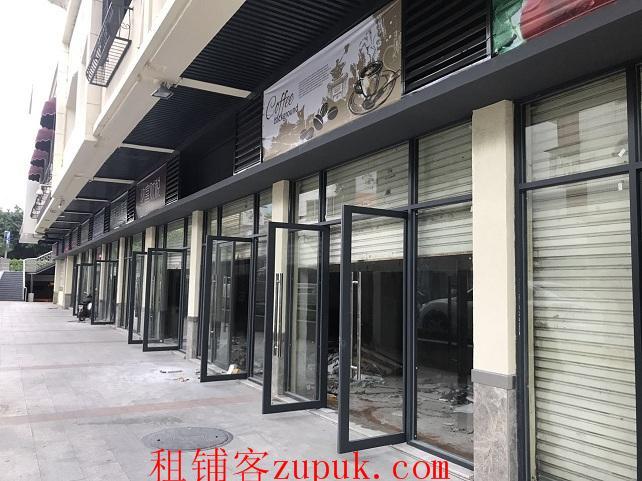 番禺广场地铁口63方临街门面招租中 诚邀轻餐饮进驻