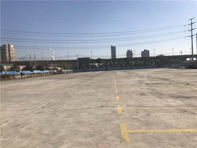 出租余杭上塘高架旁30亩空地可分租适合堆放户外材料停车等
