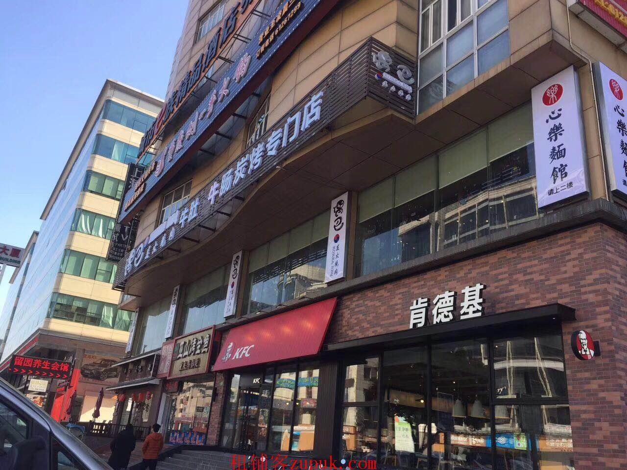 1号线延长路地铁站延长中路沿街旺铺客流量大