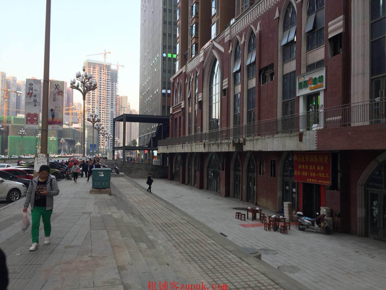 花果园兰花广场54平临街门面出租