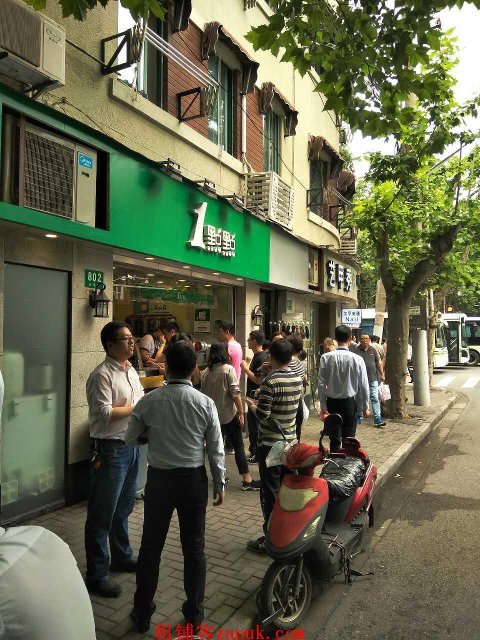漕宝路十字路口 客流量超大 执照齐全 适合早餐小吃