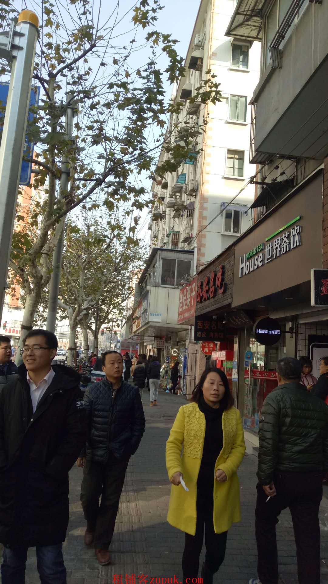 江苏路镇宁路沿街餐饮店面出租,客流火爆业态不限
