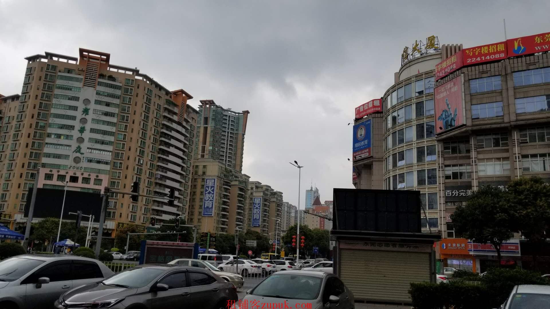 东城泰丰大厦地铺(雍华庭十字路口对角)旺铺招租!