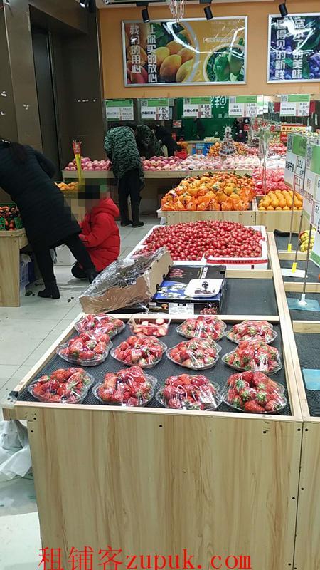 江汉路步行街宝成路夜市旁水果店转让