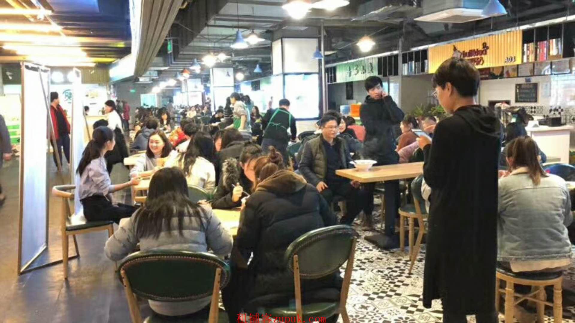 100平沿街商铺 可以做龙虾 夜宵等业态可外摆摊位