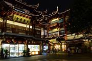 豫园老街,街面店,轻餐饮小吃都可以做,人气旺高消费