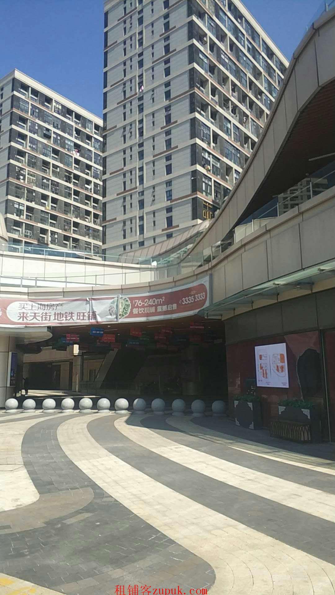 青浦区徐泾 沿街商业 人气十足 无需养铺 业态不限