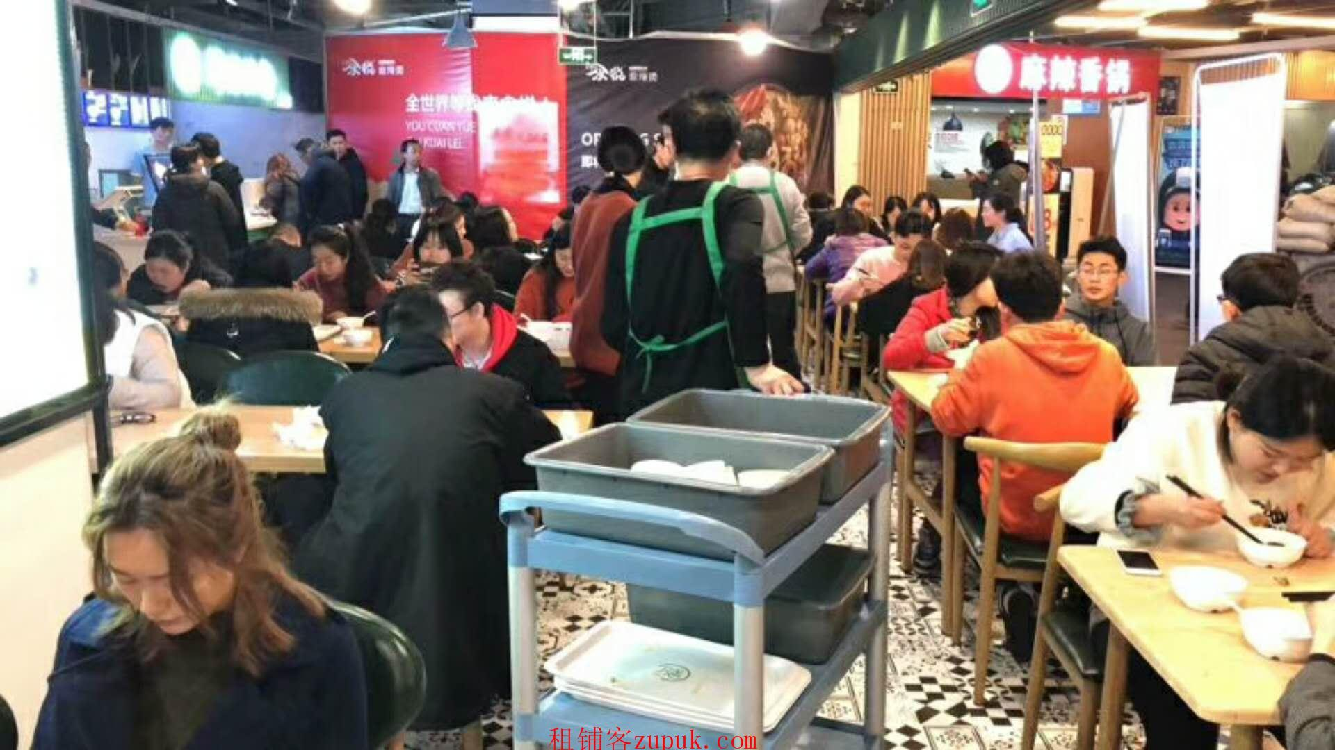 闵行区 七宝 沿街美食广场 营业中! 外卖量超大