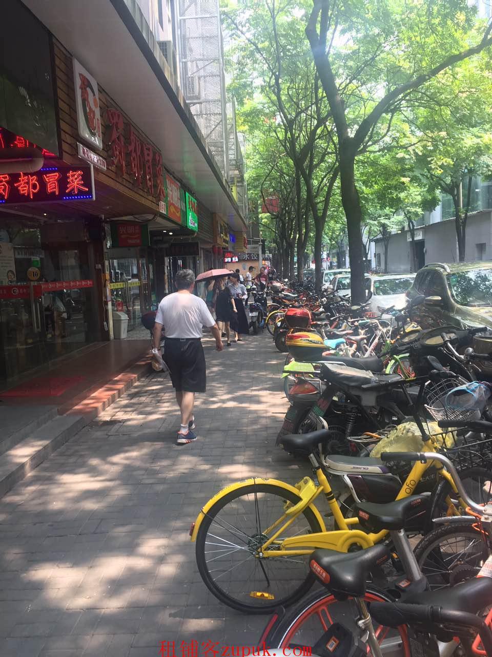 黄浦区 临街一楼商铺 业态不限 重餐饮执照