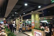 松江九亭沿街十字路口餐饮旺铺,周边居民区环绕客流大