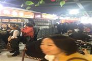 松江区中心之中闹市区的步行街 商务楼林立 居民结合