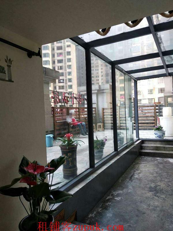 花果园一期350平盈利餐饮店急转或出租