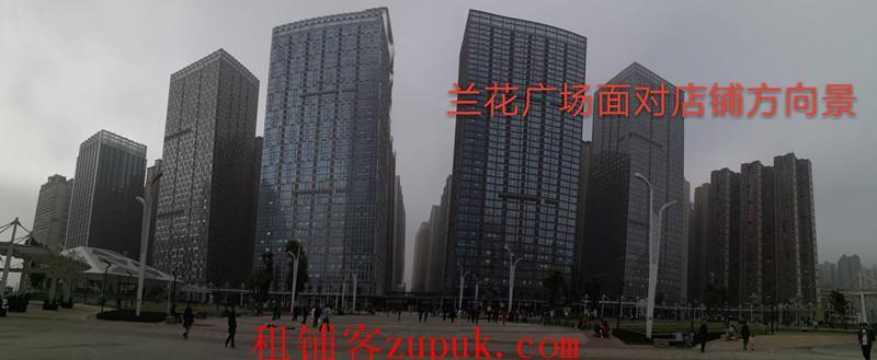 花果园兰花广场M区5栋65平旺铺房东直租