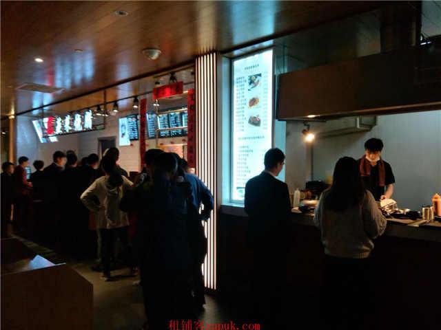 中山公园地铁口商场内奶茶神铺机会是留给有准备的人