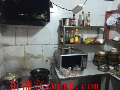九龙坡餐饮一条街35㎡临街面馆转让!c