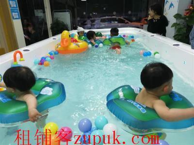 (可空转)成熟高档小区独家经营170㎡品牌游泳馆优价转让