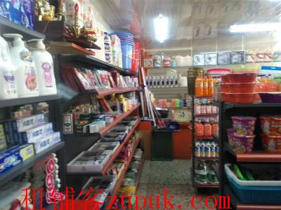成熟安置小区临街50㎡超市转让