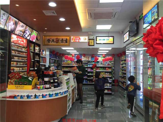小区转角位,商圈呈年轻化适合开便利店