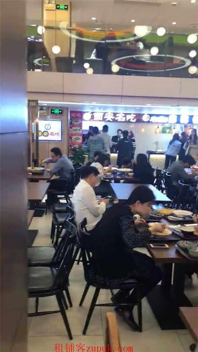 东方路沿街美食城适合各类主食小吃等业态可重餐饮
