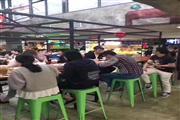 长宁协和路小区口沿街30平6千重餐执照.客流几十万