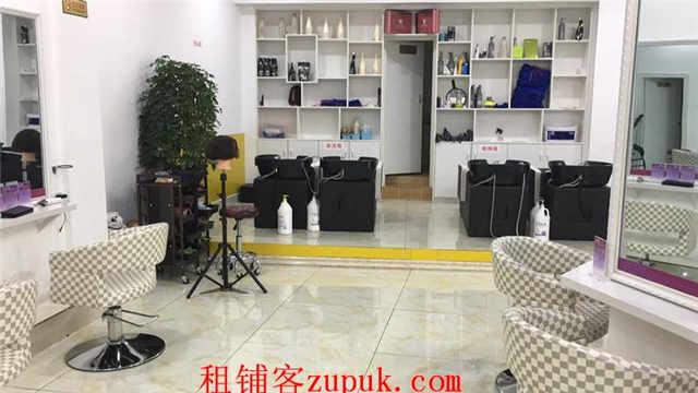 金阳新区122平盈利美发店转让