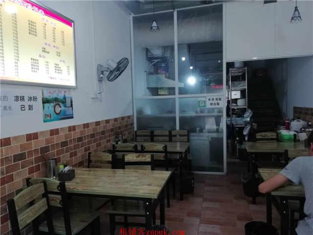 个人)万人社区门口餐饮一条街十字路口盈利面馆急转.