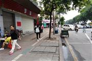 步行街十字路口转角,公交站台+小公园,日进斗金