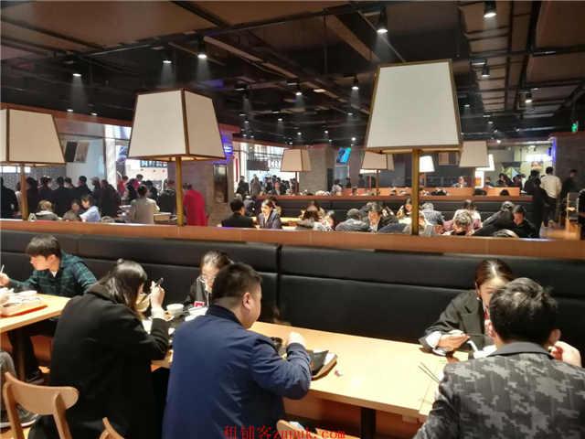 普陀环球港大食代美食广场唯一档口出租有业态保护