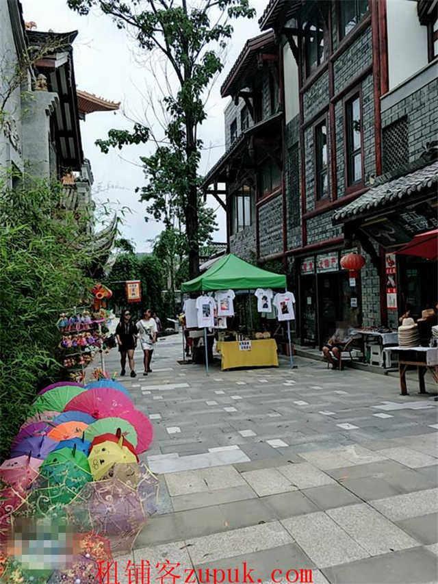 双龙镇旅游景点区小吃街盈利商铺急转