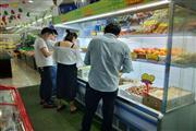 公交车站旁75㎡临街水果店转让(可空转)