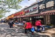 万体馆沿街门面 饭店执照 汉堡披萨寿司价高客流稳定
