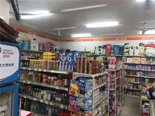 小区 超市因事低价转!显眼门头!
